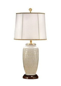 Wildwood Lamps White On White Lamp, Table Lamp | Neena's Lighting