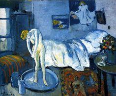 A blue room (A tub), 1901 Pablo Picasso