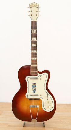 1957 Silvertone Thin Twin Electric Guitar