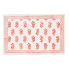 Eliza Pink Placemats (Set of 4) | Pomegranate Inc.