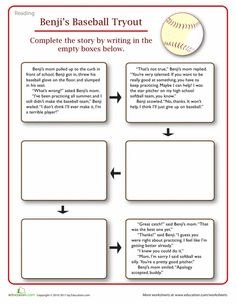 narrative essay on baseball In the writing with purpose section of the pattern based writing: quick & easy essay program, students learn to apply their new writing strategies to.