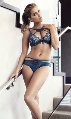 Hunkemöller Lingerie AW2015 ~ 'Sylvie' Collection ~ Model: Sylvie van der Vaart