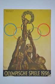 Bilderesultat for program olympic games 1936