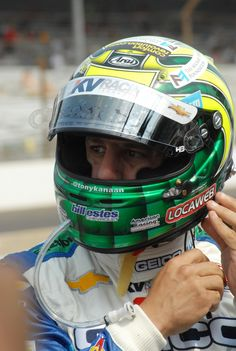 Tony Kanaan suits up for Carb Day practice - Indy500 #Racing