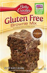 BETTY CROCKER® GLUTEN FREE BROWNIE MIX is the best tasting brownie mix I've had.