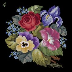 Cross Stitch Landscape, Mexican Embroidery, Perler Beads, Beading Patterns, Cross Stitch Patterns, Mandala, Floral Wreath, Crochet, Flowers