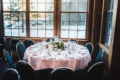 Trillium Resort is a dream location for couples looking for a mini-destination wedding deep in the heart of beautiful Muskoka. Destination Wedding, Wedding Venues, Resort Spa, Table Settings, Table Decorations, Weddings, Beautiful, Home Decor, Wedding Reception Venues