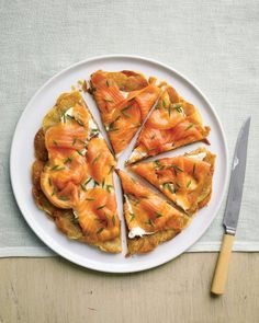 Easter Brunch Recipes // Potato Galette with Smoked Salmon Recipe
