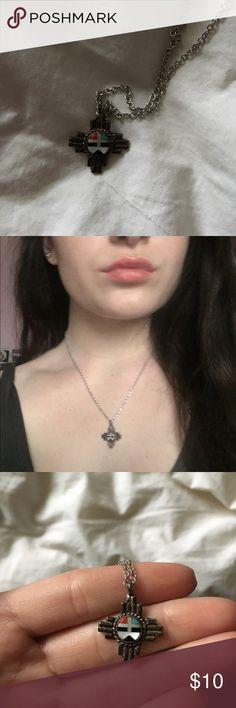 Tribal Aztec Necklace Tribal Necklace, super cute detail! Boutique Jewelry Necklaces
