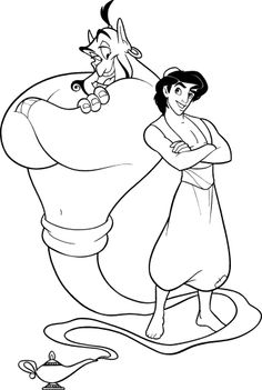 94 best disney aladdin coloring pages disney images on pinterest in