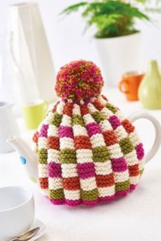 Easy Colourful Teacosy