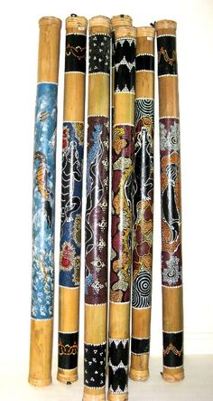 Bamboo Rain Sticks are important in African American culture. They use these to produce music while around the fire and during spiritual chants.