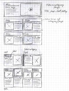 wireframe sketches -- why do I love looking at wireframes so much?