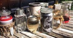 Glazen potten pimpen