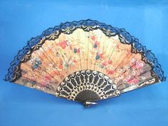 Spanish Hand Fans with Lace