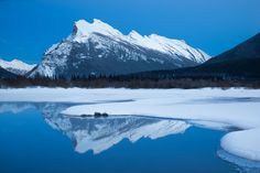 """""""Icy Vermillion Reflections"""" by Colby Brown"""