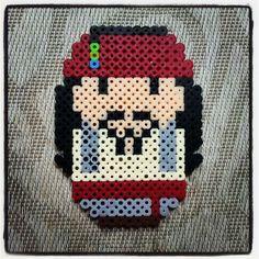Captain Jack Sparrow hama perler beads by adnaloyim