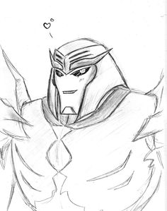 TFP-Megatronus sketch by Evaison on DeviantArt