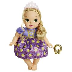 """Disney Princess Deluxe Baby Doll - Rapunzel - Tolly Tots - Toys """"R"""" Us"""
