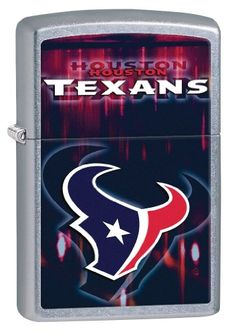 Zippo NFL Houston Texans Street Chrome Windproof Lighter Street Chrome >>> More info could be found at the image url.