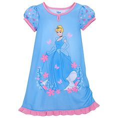 Floral Cinderella Nightshirt for Girls - Daphne Christmas Cool Kids Clothes, Baby Kids Clothes, Baby & Toddler Clothing, Toddler Girl, Disney Outfits, Kids Outfits, Disney Clothes, Diy Wardrobe, Girls Sleepwear