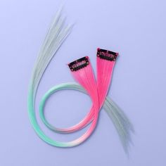 Faux Hair Extension Clip für Mädchen – Mehr als Magic Pink / Teal - Pink Hair Extensions, Clip In Extensions, Frozen Headband, Hair Extension Clips, Color Spray, Fiber Lash Mascara, Teal And Pink, Girls Hair Accessories, Clothing Accessories