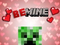 minecraft valentine printable | minecraft valentines - Google Search