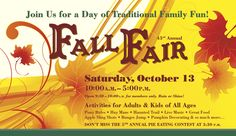 New Canaan Nature Center Fall Fair