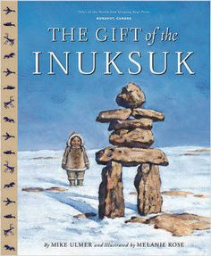 (Picture Book) A young girl in Nunavut builds stone men, called Inuksuk, to direct her father and brother home when they are lost. Inuit People, First Nations, Canada, World, Illustration, Gifts, Social Studies, Geography, Kids