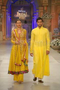 CoutureBano.Blogspot.in ~ Nomi Ansari Studio https://www.facebook.com/NomiAnsariStudio at Pantene Bridal Couture Week 2012, Pakistan