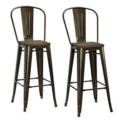 """DHP Luxor Metal Bar Stool with Wood Seat (Set of 2), 30"""",... https://www.amazon.com/dp/B01601KA34/ref=cm_sw_r_pi_dp_x_200XybYVK60GY"""