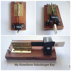 My Homebrew SideSwiper Morse Key