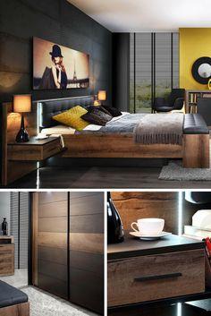 Sypialnia Bellevue to ekskluzywny zestaw mebli sypialnianych polecany do urządzenia nowoczesnego pokoju nocnego. Znajdziemy tu wszystkie meble, które powinny być w każdej sypialni, łącznie z obszerną szafą i praktyczną komodą, gdzie pomieścimy garderobę oraz inne niezbędne przedmioty.  A Bellevue bedroom is an exclusive set of bedroom furniture recommended for furnishing the modern night room.  #bedroom #bed #room #pillows #night #łóżko #sypialnia #pokój #poduszki #noc #mirjan24