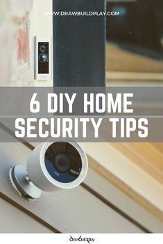 6 DIY Home Security Ideas to modernize your home security with a Nest Camera, Smart Door bells, and other smart home tools. Add these to a kids bedroom as a baby monitor or young child monitor to make sure they are safe all night long. Home Security Tips, Wireless Home Security Systems, Security Camera System, Security Alarm, Security Cameras For Home, House Security, Security Gadgets, Security Products, Best Home Security System