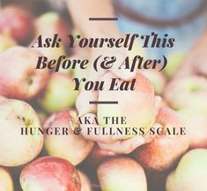 The hunger-fullness scale is a tool to help you learn how to tune into what your body needs and begin to eat more intuitively. Mindful Eating Quotes, Before And After Diet, Self Compassion, Diet Challenge, Intuitive Eating, Calorie Counting, Body Image, Physical Activities, Intuition