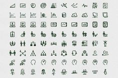 Busy Icons Font by Hand-drawn Goods on Creative Market