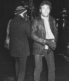 Bruce with Karen Darvin