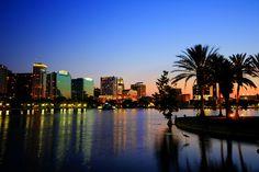 Orlando skyline.. Can't wait