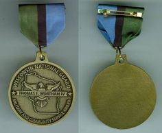 The OMSA Medal Database - Wortham Achievement Medal - OMSA Military Insignia, National Guard, Wisconsin, Pendant Necklace, Jewelry, Jewlery, Jewerly, Schmuck, Jewels