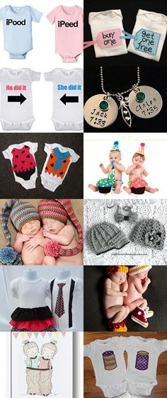 My Seminoles Twins set is featured in this adorable TWINS Treasury! It's A Boy, It's A Girl, It's Twins! by kevilina on Etsy--Pinned with TreasuryPin.com