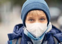 masque enfants pollution
