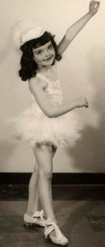 Most-charming-little-girl-dancer-in-white-Vintage-dance-photo-wow
