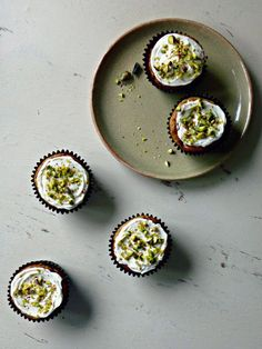 The Spoon and Whisk: Pistachio, Honey and Banana Muffins (sugar free!!)