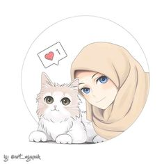 New ideas for wall paper couple muslim cartoon Cute Cartoon Girl, Couple Cartoon, Anime Chibi, Kawaii Anime, Anime Art Girl, Anime Girls, Muslim Pictures, Hijab Drawing, Islamic Cartoon