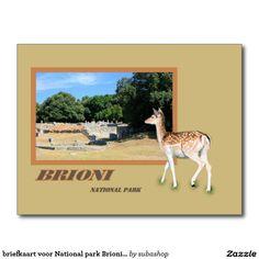 briefkaart voor National park Brioni, Kroatië