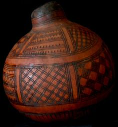 African baskets, gords and bowls