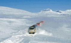 Norway train line - Bergensbanen