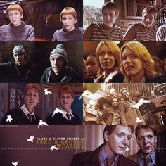 Through the years: Fred and George Weasley