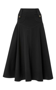 Click product to zoom Midi Flare Skirt, Flared Mini Skirt, Derek Lam, High dfff644a904