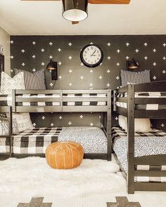 Can you imagine how hard it would be to make bunk beds without Beddy's? All you have to do is zip! 📷: @our_forever_farmhouse #zipperbedding #zipyourbed #beddys #homedecor #boysroom #boysroomdecor #kidsinterior #kidsbedroom #kidsbedding #kidsdesign #bedding #boystuff #boybedding #beddings Floral Bedroom Decor, Boys Bedroom Decor, Girls Bedroom, Boho Decor, Bedroom Ideas, Kid Beds, Bunk Beds, Beddys Bedding, Zipper Bedding